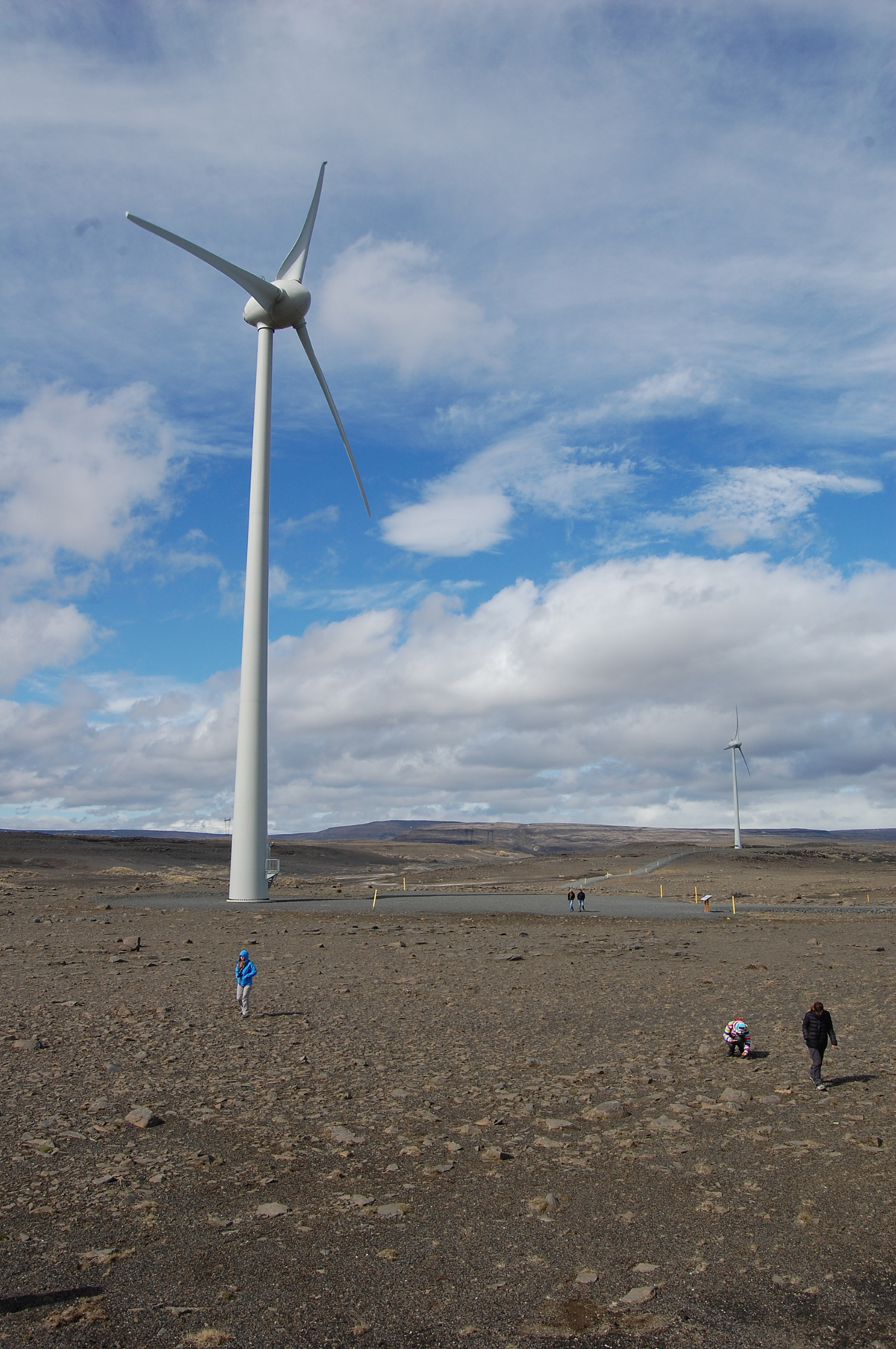 wind turbines on iceland